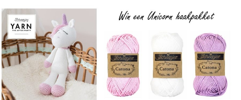 Unicorn yarn 30 haakpakket